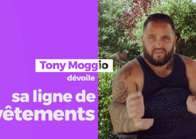 Lignes de vêtements – Tony Moggio