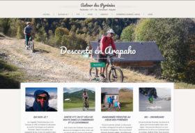 Création site internet Autour des Pyrénées Claude Boismard