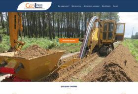 Site internet Géolinéa